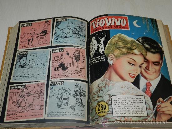 Tebeos: (M) TIO VIVO AÑO II 1958 , DEL NUM 51 AL NUM 100 + ALMANAQUE 1959, FALTAN LOS NUM 72 - 73, - Foto 2 - 36370980