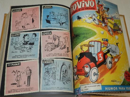 Tebeos: (M) TIO VIVO AÑO II 1958 , DEL NUM 51 AL NUM 100 + ALMANAQUE 1959, FALTAN LOS NUM 72 - 73, - Foto 4 - 36370980