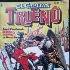 Tebeos: EL CAPITAN TRUENO Nº 11. Lote 36371983