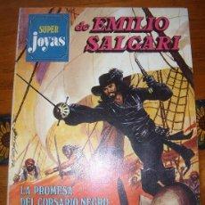 Tebeos: PEQUEÑO TOMO DE SUPER JOYAS DE EMILIO SALGARI(3 RELATOS GRÁFICOS). Lote 36433450