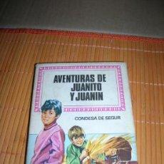 Tebeos: COL. HISTORIAS INFANTIL, Nº 45: AVENTURAS DE JUANITO Y JUANIN, DE CONDESA DE SEGUR. BRUGUERA 1970.. Lote 36473753