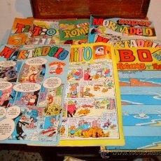 Livros de Banda Desenhada: 8 TEBEOS DE LOS AÑOS 80.. Lote 36474867
