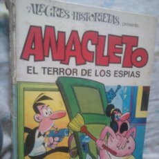 Tebeos: ALEGRES HISTORIETAS : ANACLETO EL TERROR DE LOS ESPIAS, AÑO 1973. Lote 141325130