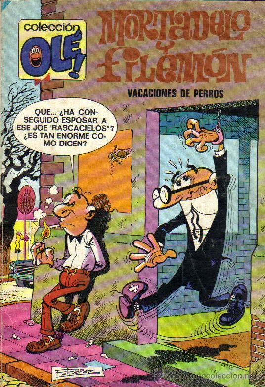 COLECCIÓN OLÉ **MORTADELO Y FILEMÓN**5ª EDICIÓN NOVIEMBRE 1984**NÚMERO 120 (Tebeos y Comics - Bruguera - Ole)