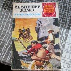 Tebeos: EL SHERIFF KING,LA HISTORIA DE GRECKO STORM,GRANDES AVENTURAS JUVENILES 20. Lote 36572805