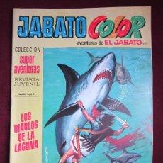 Tebeos: JABATO COLOR. Nº 211 LOS DIABLOS DE LA LAGUNA PRIMERA ÉPOCA BRUGUERA NUEVO PENULTIMO DIFICIL TEBENI. Lote 36708374