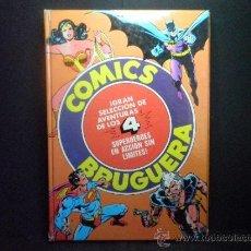 Giornalini: GRAN SELECCION DE AVENTURAS DE LOS 4 SUPERHEROES EN ACCION SIN LIMITES - COMICS BRUGUERA. Lote 36780350