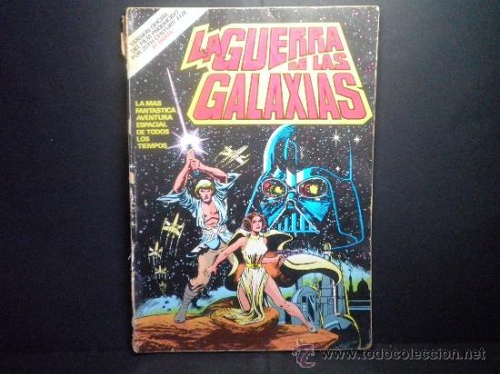 LA GUERRA DE LAS GALAXIAS - VERSION OFICIAL DEL FILM PRODUCIDO POR 20 TH CENTURY FOX - PARTE 1 (Tebeos y Comics - Bruguera - Otros)