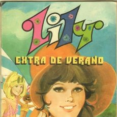 Tebeos: LILY EXTRA DE VERANO - CON POSTER DE BLANCA ESTRADA - FOTO RAFAELA CARRA,JAIME MOREY,BRAULIO,ROMINA. Lote 36792508