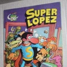 Tebeos: SUPER LOPEZ: ¡ LOS ALIENIGENAS! , COLECCIÓN OLE Nº 4 . Lote 36813476