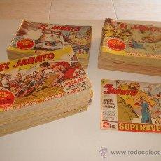 Tebeos: EL JABATO COLECCION COMPLETA ORIGINAL 381 EJEMPLARES. EDITORIAL BRUGUERA 1958. Lote 36801840