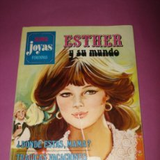 Tebeos: ESTHER Y SU MUNDO DE SUPER JOYAS FEMENINAS Nº 9 , SERIE AZUL . EDIT. BRUGUERA DE 1979. Lote 36858688