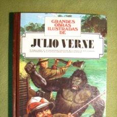 Tebeos: GRANDES OBRAS ILUSTRADAS. JULIO VERNE. TOMO Nº 5. EDITORIAL BRUGUERA. 2ª EDICIÓN 1986. Lote 36863449