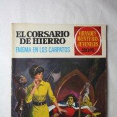 Tebeos: GRANDES AVENTURAS JUVENILES - CORSARIO DE HIERRO Nº 69 - ENIGMA EN LOS CARPATOS - EDIT. BRUGUERA. Lote 36888256