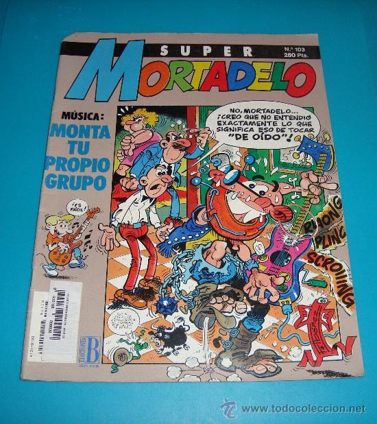 SUPER MORTADELO Nº 103 (Tebeos y Comics - Bruguera - Mortadelo)