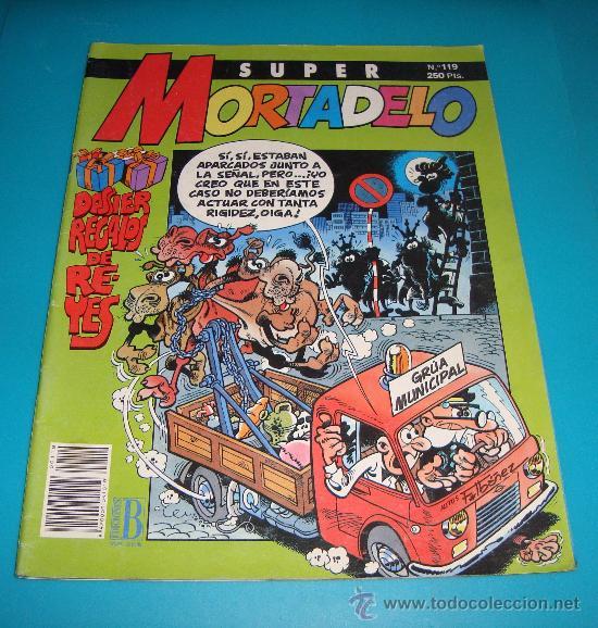 SUPER MORTADELO Nº 119, DOSIER REGALOS DE REYES (Tebeos y Comics - Bruguera - Mortadelo)