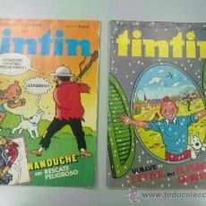 Tebeos: PACK REVISTA TINTIN NºS 18 Y 19. EDITORIAL BRUGUERA 1981. Lote 36907153