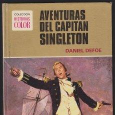 Tebeos: HISTORIAS COLOR – AVENTURAS DEL CAPITAN SINGLETON, DANIEL DAFOR - SERIE GRANDES AVENTURAS 2 - BRUGUE. Lote 36948792