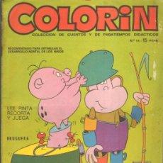 Tebeos: TEBEOS-COMICS GOYO - COLORIN - Nº 14 - 1ª EDICION *AA99. Lote 36949991