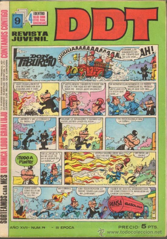 TEBEOS-COMICS GOYO - DDT - Nº 79 - BRUGUERA - 3ª EPOCA - *AA99 (Tebeos y Comics - Bruguera - Otros)