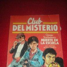 Tebeos: CLUB DEL MISTERIO. LA MUERTE EN LA ESCUELA. Nº 36. BRUGUERA.. Lote 36964112