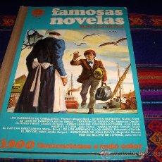 Tebeos: FAMOSAS NOVELAS Nº VI 6 PRIMERA EDICIÓN. BRUGUERA 1977.. Lote 209924658