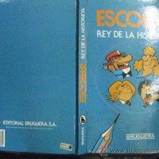 Tebeos: ESCOBAR EL REY DE LA HISTORIETA. BRUGUERA 1985. 1ª EDICION.. Lote 36982674