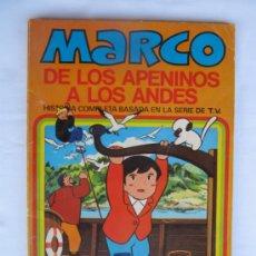 Tebeos: MARCO DE LOS APENINOS A LOS ANDES - TOMO Nº 10 - UN DÍA INTERMINABLE - EDITORIAL BRUGUERA. . Lote 37025615