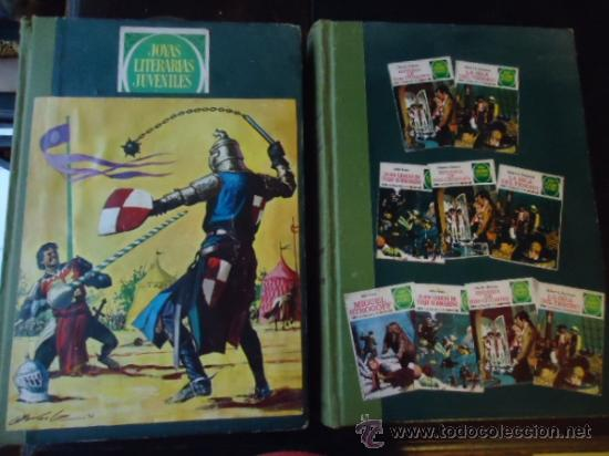 OBRAS LITERARIAS JUVENILES 2 TOMOS ENCUADERNADOS 30 EJEMPLARES , VER TITULOS (Tebeos y Comics - Bruguera - Joyas Literarias)