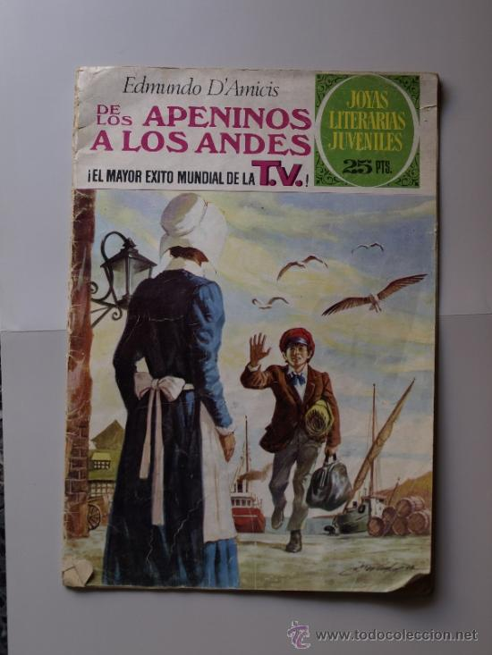 MARCO, COLECCIÓN JOYAS LITERARIAS JUVENILES. (Tebeos y Comics - Bruguera - Joyas Literarias)