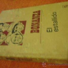 Tebeos: BONANZA 1969 EL ESTALLIDO BRUGUERAS . Lote 37244176