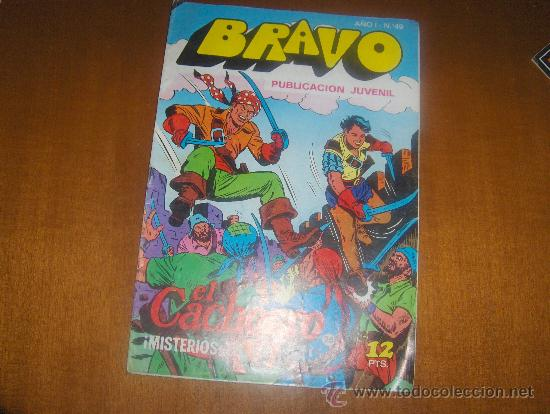 COMIC BRAVO. EL CACHORRO. ¡MISTERIOS EN LA ISLA!. BRUGUERA Nº 49 (Tebeos y Comics - Bruguera - El Cachorro)