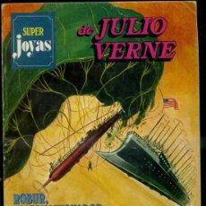 Tebeos: SUPER JOYAS Nº 6 - JULIO VERNE : ROBUR / ROBINSONES / DUEÑO DEL MUNDO (1977). Lote 37292407