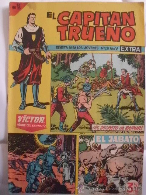 EL CAPITAN TRUENO EXTRA Nº 237 (Tebeos y Comics - Bruguera - Capitán Trueno)