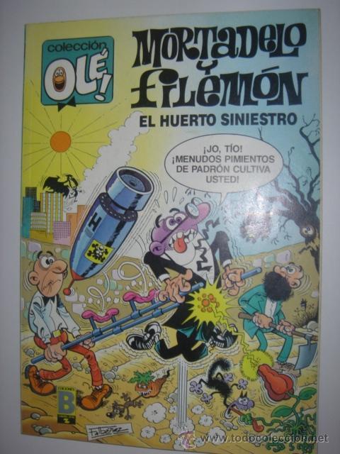OLÉ MORTADELO Y FILEMON 328-M.88 (Tebeos y Comics - Bruguera - Ole)