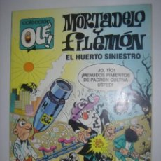 Tebeos: OLÉ MORTADELO Y FILEMON 328-M.88. Lote 37348634
