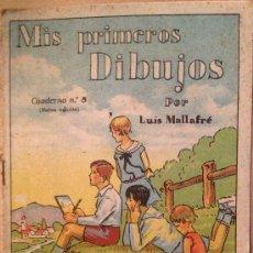 Tebeos: MIS PRIMEROS DIBUJOS POR LUIS MALLAFRE / Nº 8 / EDITORIAL ROMA - BARCELONA. Lote 37368367