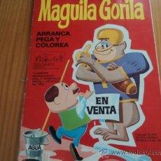 Tebeos: MAGUILA GORILA. ARRANCA, PEGA Y COLOREA, Nº 3. HANNA BARBERA. 1970. Lote 37372573