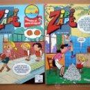 Tebeos: 4 COMICS TEBEO ZIPI Y ZAPE Nº 610-636-649-653 AÑO XIV NUEVOS 1985-86 BRUGUERA ACUARELA. Lote 37394429
