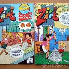 Tebeos: 3 COMICS TEBEO ZIPI Y ZAPE Nº 636-649-653 AÑO XIV NUEVOS 1985-86 BRUGUERA ACUARELA. Lote 37394429