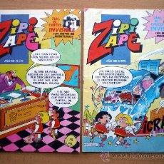 Tebeos: COMIC TEBEO ZIPI Y ZAPE 4 COMICS AÑO XIII Nº 573-575-577-598 DE BRUGUERA 1984. Lote 37394487