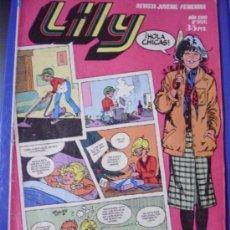 Tebeos: LILY DE BRUGUERA, Nº 996 (ENE/1981), CON POSTER DE FELIPE (TEQUILA).. Lote 37506064