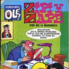 BDs: OLE ZIPI Y ZAPE Nº 110 Z87 (1990) 1ª EDICIÓN. Lote 37502014