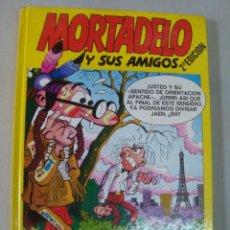Tebeos: MORTADELO Y SUS AMIGOS - Nº 4 - 1988 EDIC B - NUEVO POR COMPLETO DE STOCK DE QUIOSCO. Lote 37605079