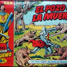 Tebeos: EL CAPITAN TRUENO COLECCIÓN DAN BRUGUERA LOTE DE 8 NÚMEROS 5-6-7-8-9-10-11-12 BRUGUERA. B/N. AÑOS 80. Lote 194654720
