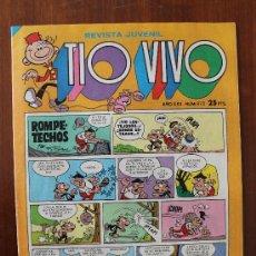 Tebeos: TIO VIVO Nº 973 - REVISTA JUVENIL - ED. BRUGUERA - AÑO 1979 – COMIC COLOR . Lote 37731422