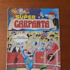 Tebeos: SUPER CARPANTA Nº 19 CON SIR TIM O`THEO Y ANACLETO. Lote 37762796