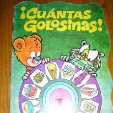 Tebeos: CUANTAS GOLOSINAS! - TROQUELADOS CU-CO Nº 13 - BRUGUERA - ESPAÑA - RARO!. Lote 37746937