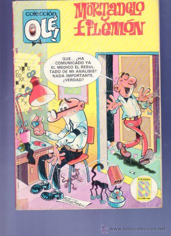 COLECCIÓN OLÉ! Nº 234 - M 29. EDICIONES B. MORTADELO Y FILEMÓN. 1ª ED. 1987 (Tebeos y Comics - Bruguera - Ole)