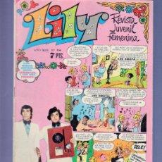 Tebeos: LILY REVISTA JUVENIL FEMENINA Nº 556 - AÑO 1972. EDITORIAL BRUGUERA. NUEVOS SORTEOS CON MAS PREMIOS.. Lote 37780302